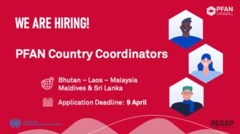 PFAN is seeking Country Coordinators in Asia