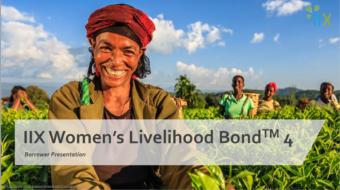Investment Opportunities – IIX's Women Livelihood Bond 4