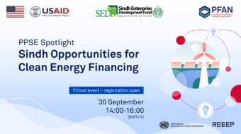 PPSE Spotlight on Sindh: Opportunities for Clean Energy Financing