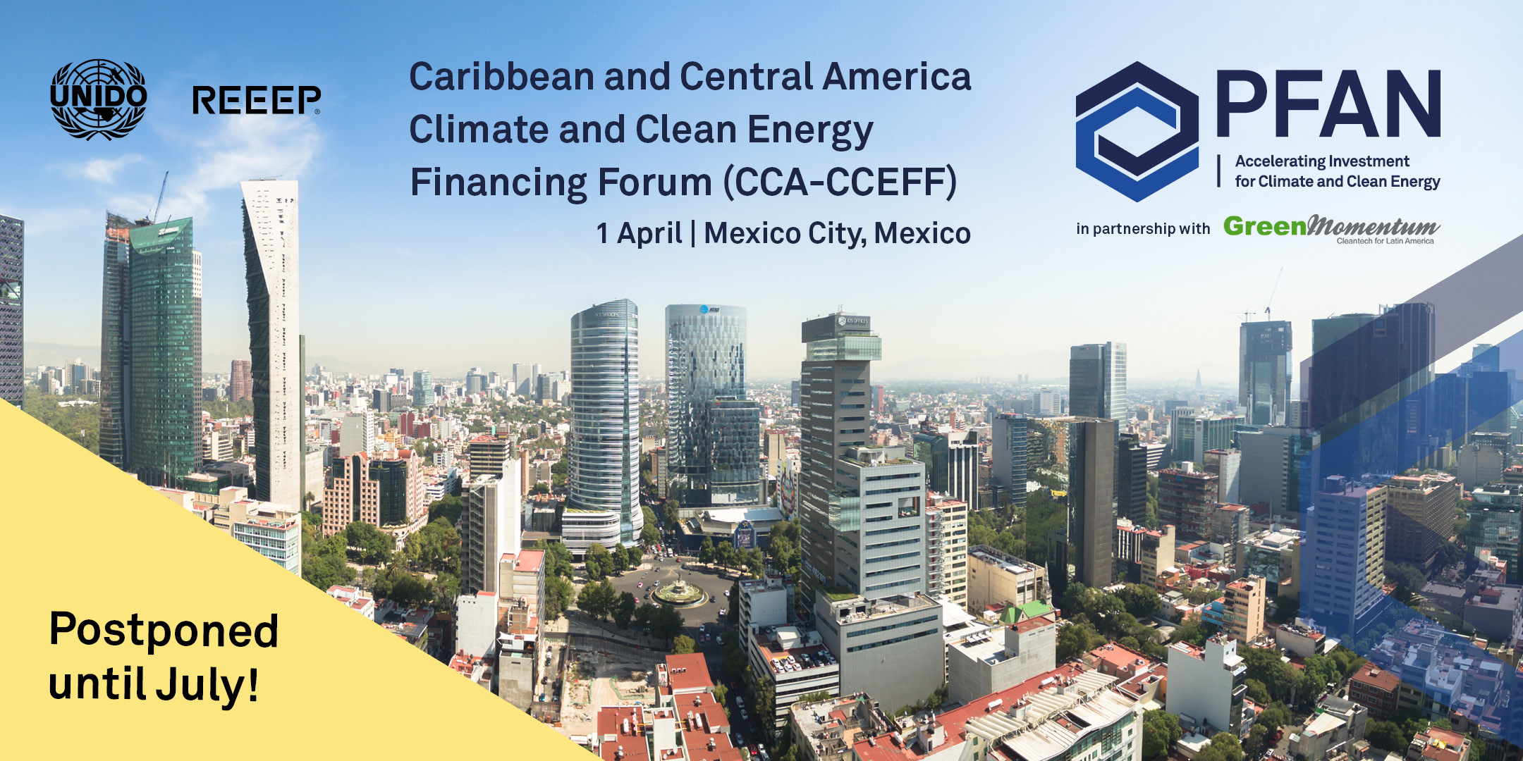 PFAN Caribbean & Central America Climate & Clean Energy Financing Forum