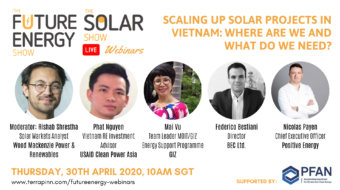 #TheFutureEnergyShow Webinar: Scaling Up Solar Projects In Vietnam: Where Are We And What Do We Need?