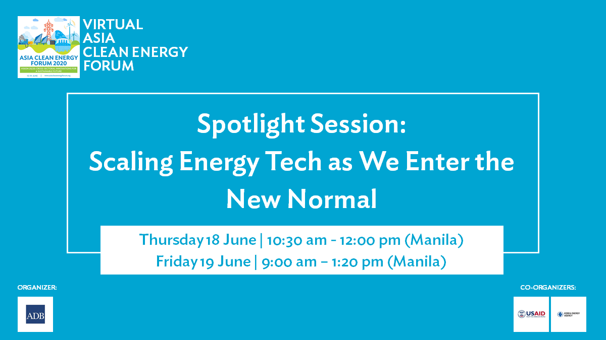 PFAN to co-host Scaling Energy Tech @ Virtual ACEF 2020