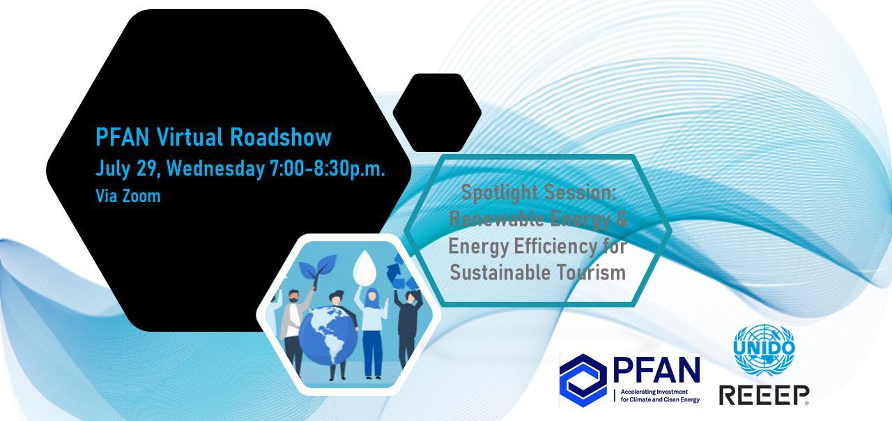 PFAN Virtual Roadshow Manila – Renewable Energy and Energy Efficiency for Sustainable Tourism