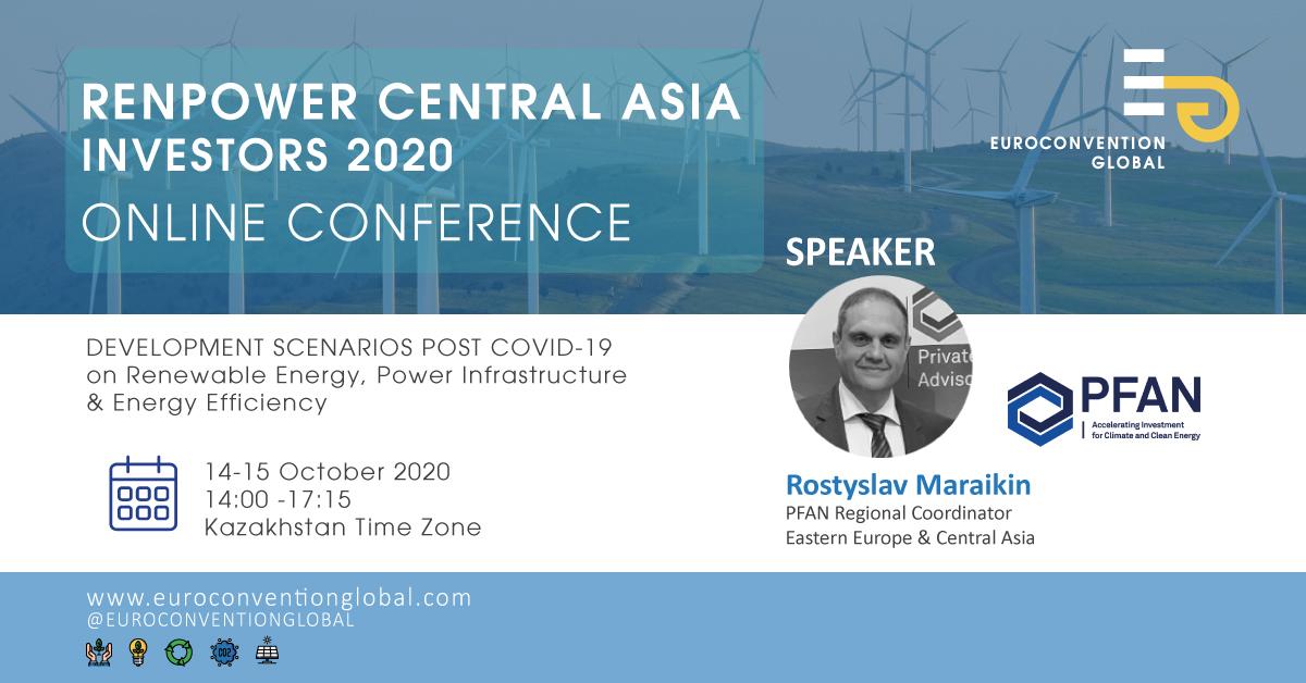 Renpower Central Asia 2020 – Post Covid-19 Development Scenarios Online Forum