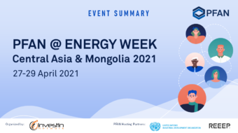 PFAN at the Energy Week Central Asia & Mongolia