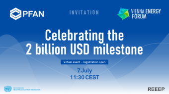 PFAN's big milestone: the USD 2 billion investment leveraged by PFAN-supported projects