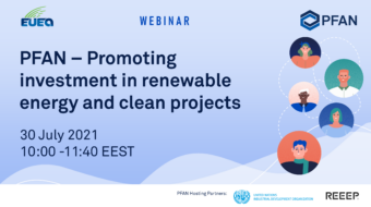 Webinar: PFAN – promoting investment in renewable energy and clean projects