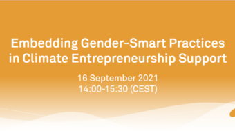 Gender-Smart Practices in Climate Entrepreneurship Support: Insights from an ecosystem workshop